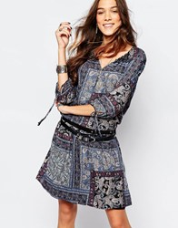 Esprit Paisley Print Tunic Dress Multi