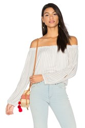Sanctuary Chantel Off Shoulder Top White