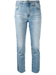Ag Jeans Isabelle Jean Raw Hem Side Stripe 60