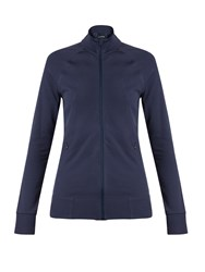 Aeance Zip Through Performance Jacket Navy