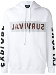 Markus Lupfer Survival Grant Hoodie White