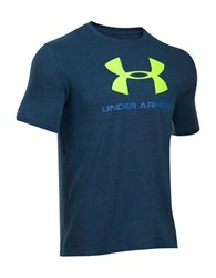 Under Armour Charged Cotton Sportstyle Logo T Shirt Dark Blue