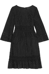 Anna Sui Magical Mystery Lace Dress Black