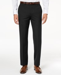 Ryan Seacrest Distinction Men's Ultimate Moves Modern Fit Stretch Solid Suit Pants Created For Macy's Black