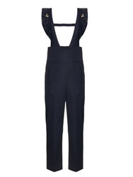 Muveil Embellished Wool Jumpsuit