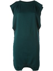 Maison Martin Margiela Mm6 Shirt Sleeve Sweater Dress Green