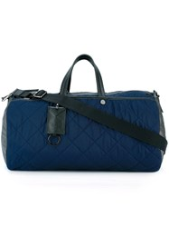 Moncler Quilted Holdall Blue
