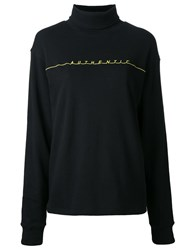 G.V.G.V. Authentic Turtleneck Sweatshirt Black