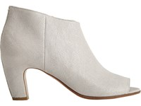 Maison Martin Margiela Women's Peep Toe Ankle Boot Light Grey