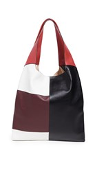 Hayward Grand Shopper Tote Black White Red