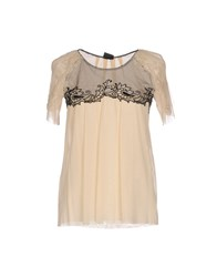 Paola Frani Pf Blouses Beige