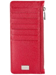 Dolce And Gabbana Long Cardholder Red