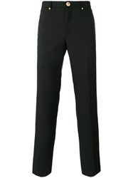 Givenchy Star Button Tailored Trousers Black