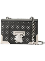 Balmain Microstud Crossbody Black