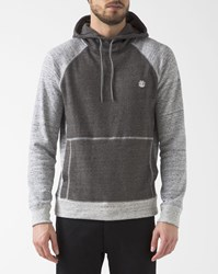 Element Grey Two Colour Meridian Raglan Hoodie