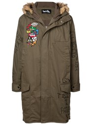 Haculla Nyc Drama Parka Coat Green