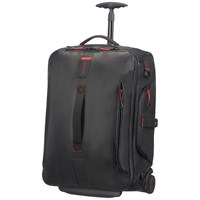 Samsonite Paradiver Light 55Cm Wheeled Duffle Backpack Black