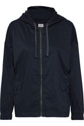 Charli Woman Cotton Blend Hoodie Navy