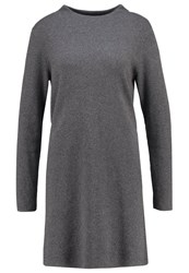 Opus Warsley Jumper Dress Raven Grey Anthracite