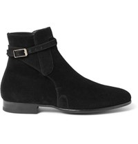 Tom Ford Gloucester Leather Boots Black