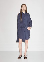 Henrik Vibskov Bumble Shirt Dress Black Iris