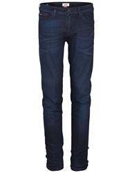 Tommy Hilfiger Men's Scanton Rivington Slim Fit Jeans Indigo