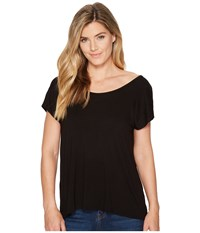 Kavu Eleanor Top Jet Black Clothing