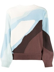 House Of Sunny Colour Block Jumper 60