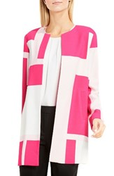 Vince Camuto Women's Abstract Print Long Jacket