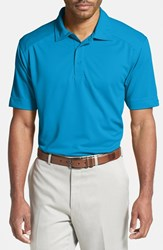 Men's Big And Tall Cutter And Buck 'Genre' Drytec Moisture Wicking Polo Seaport Blue