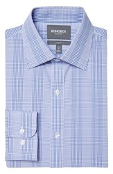 Men's Bonobos Slim Fit Wrinkle Free Glen Plaid Dress Shirt