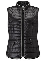 Gerry Weber Padded Gilet Black