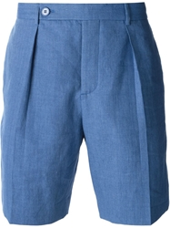 Carven Tailored Shorts Blue