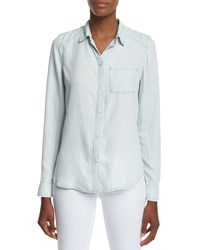 Paige Tate Button Front Chambray Shirt Reese Women's
