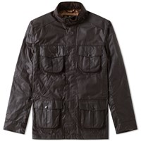 Barbour Corbridge Wax Jacket Brown