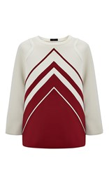Anya Hindmarch Hem Diamonds Sweatshirt Off White