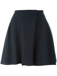 See By Chloe A Line Wrap Shorts Black