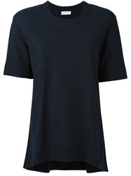 Zanone Loose Fit T Shirt Blue