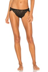 Only Hearts Club Bardot Brazilian Bikini Underwear Black