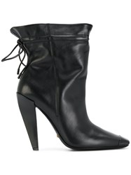 Tom Ford Heeled Ankle Boots Black