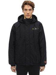 Reebok Tom And Jerry Light Padded Nylon Jacket Black