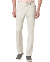 Perry Ellis Big And Tall Five Pocket Sateen Stretch Pants