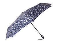 Vera Bradley Umbrella Cobalt Tile Umbrella Blue