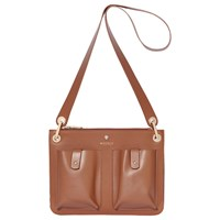 Modalu Carter Leather Shoulder Bag Tan