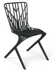 Knoll Washington Skeleton Outdoor Aluminum Side Chair