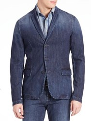 Tomas Maier Broken In Wash Jacket Navy