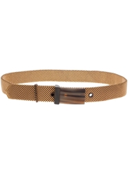 Laura B Beaded Belt Metallic