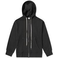 Mr. Completely Front And Back Zip Hoody Black
