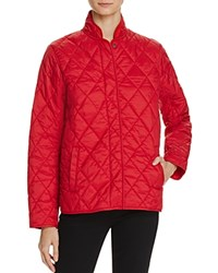 Barbour Rae Loch Quilted Jacket Red