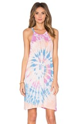 Lacausa Hemp Petal Dress Blue